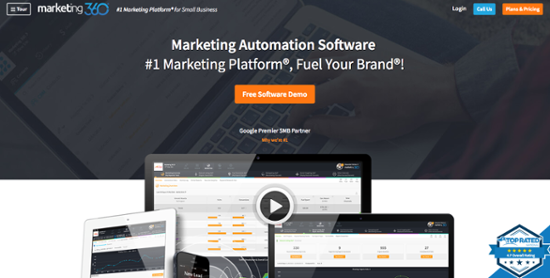 best marketing automation softwares
