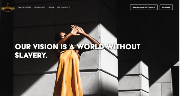 dressember homepage