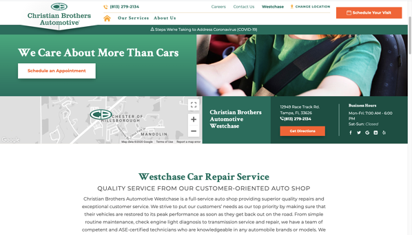 christian brothers automotive website