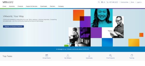 VMware-homepage-2020