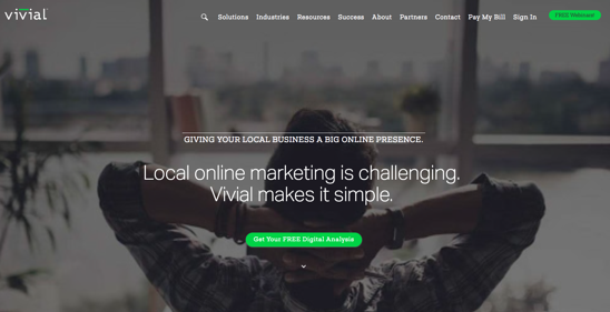 Vivial Homepage