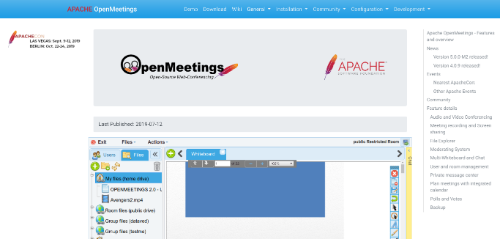 apache-openmeeting-home-page
