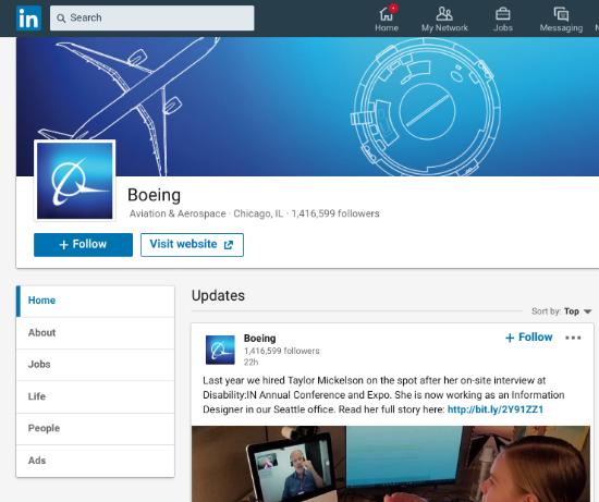boeing-linkedin-account