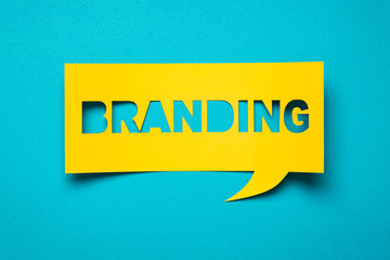 branding spelled out in a quote box