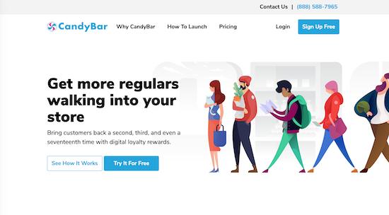 candybar-homepage