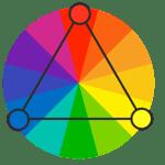 color- triadic