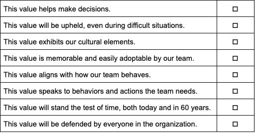 company-values