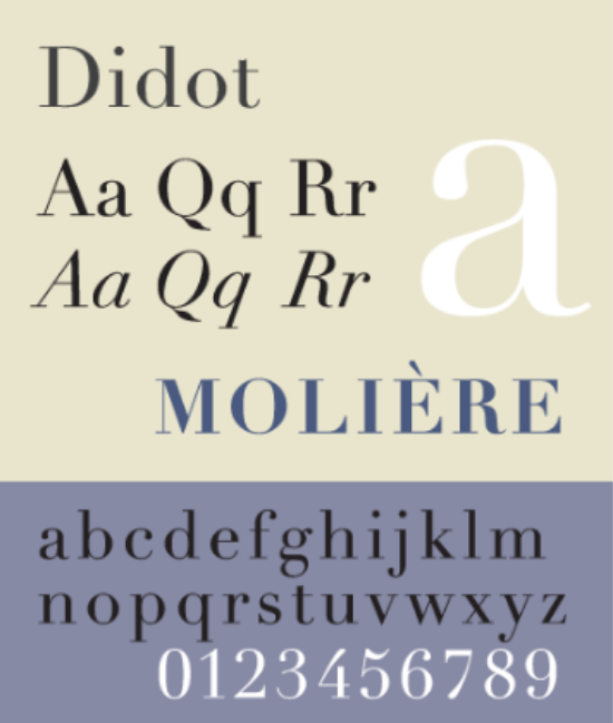 didot-sample