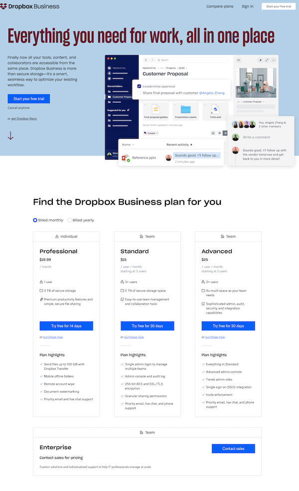 dropbox-business-products