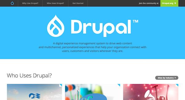 drupal-website-homepage