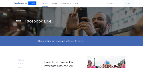 facebook-live-home-page