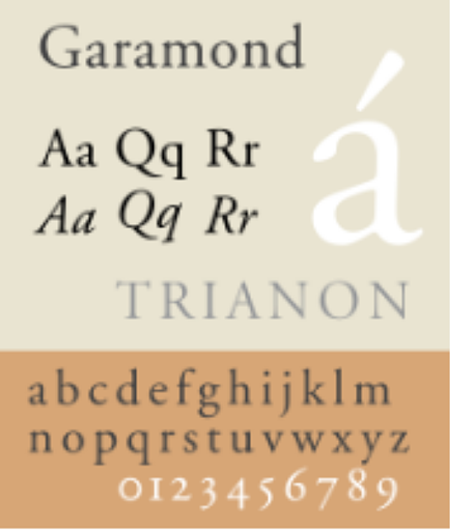 garamond-sample