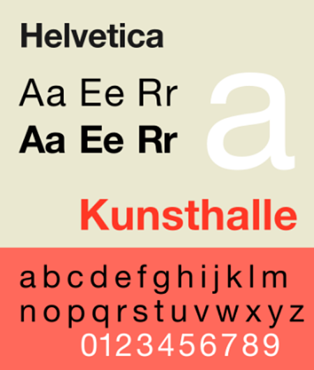 helvetica-sample