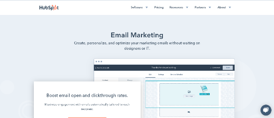 hubspot-email-marketing-tool