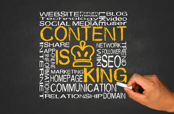 Creating useful content attracts visitors organically