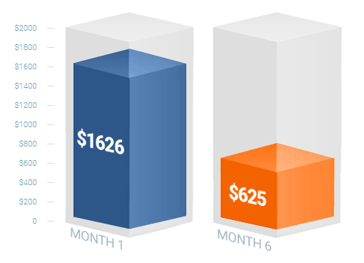 Lowman Law's Cost-Per-Lead Decreases in 6 Months!