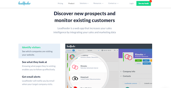 leadfeeder-website