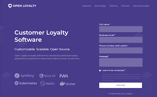 open-loyalty-homepage