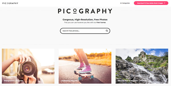 picography best stock websites