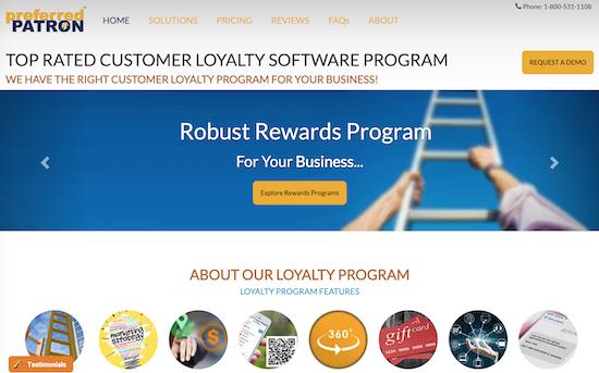 preferred-patron-homepage