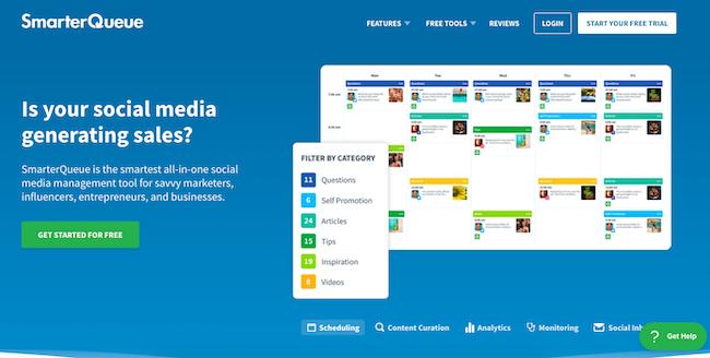 smarterqueue-homepage