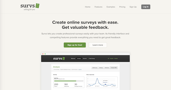 survs-homepage