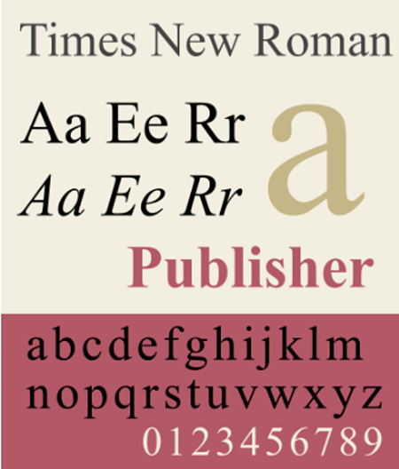 times-new-roman-sample
