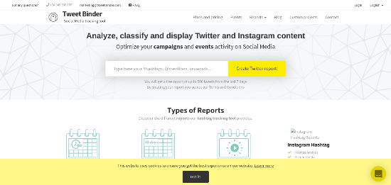 tweet-binder-home-page