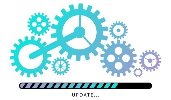 update web design