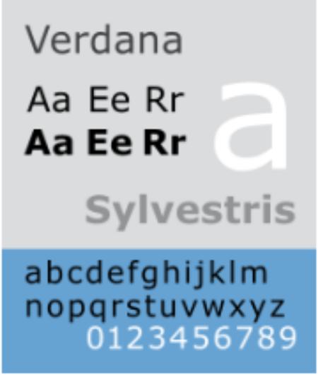 verdana-sample