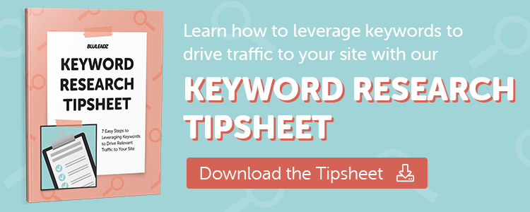 Keyword Research Tipsheet