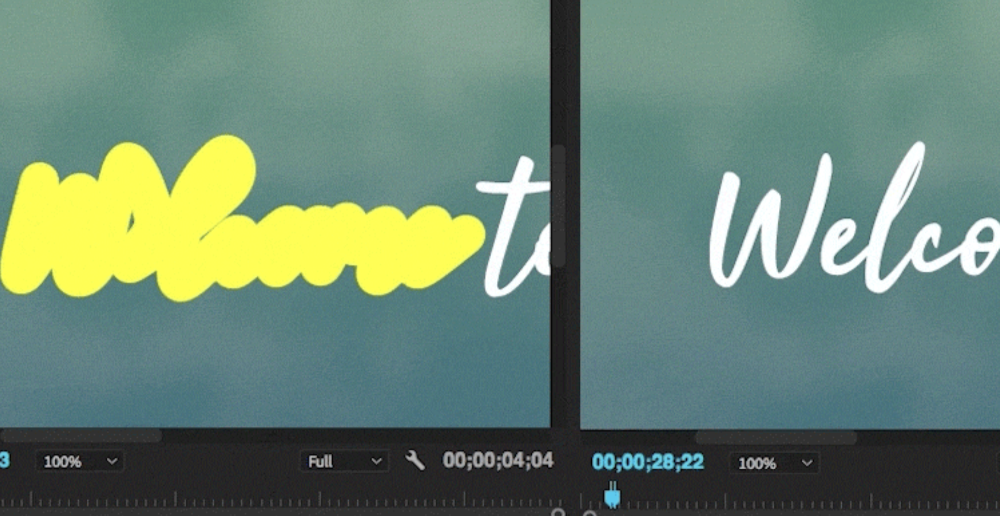 How to Create a Handwriting Effect in Adobe Premiere